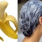 Maska od banane za lice i kosu