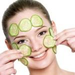 Krastavac maska za lice, podočnjake, mršavljenje, sinuse…
