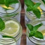Napitak za skidanje stomaka: Limun, nana, đumbir i krastavac
