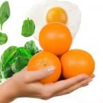 Bolnička dijeta sa narandžama i jajima
