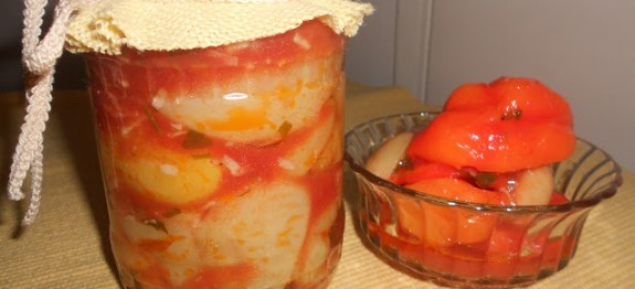 paprika u paradajz sosu