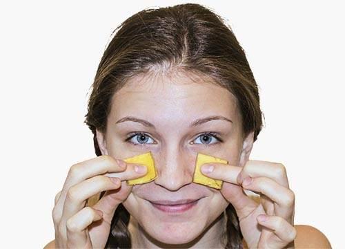 bananina kora za lice