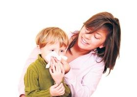 krvarenje iz nosa dece