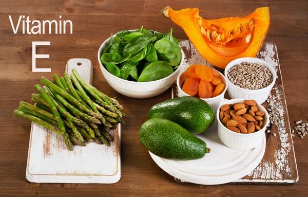 vitamin E u hrani