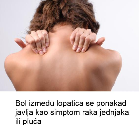 bol izmedju lopatica
