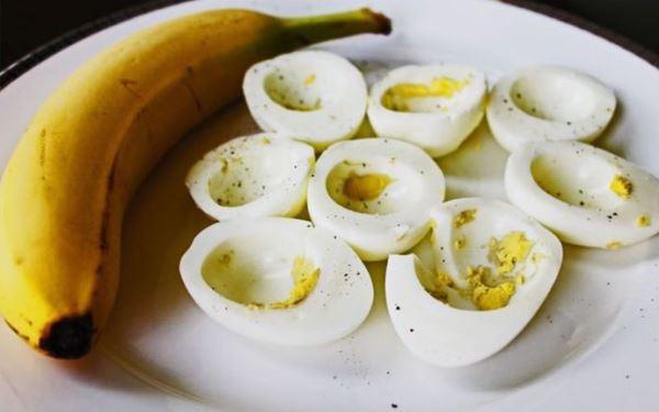 dijeta sa jajima i bananama